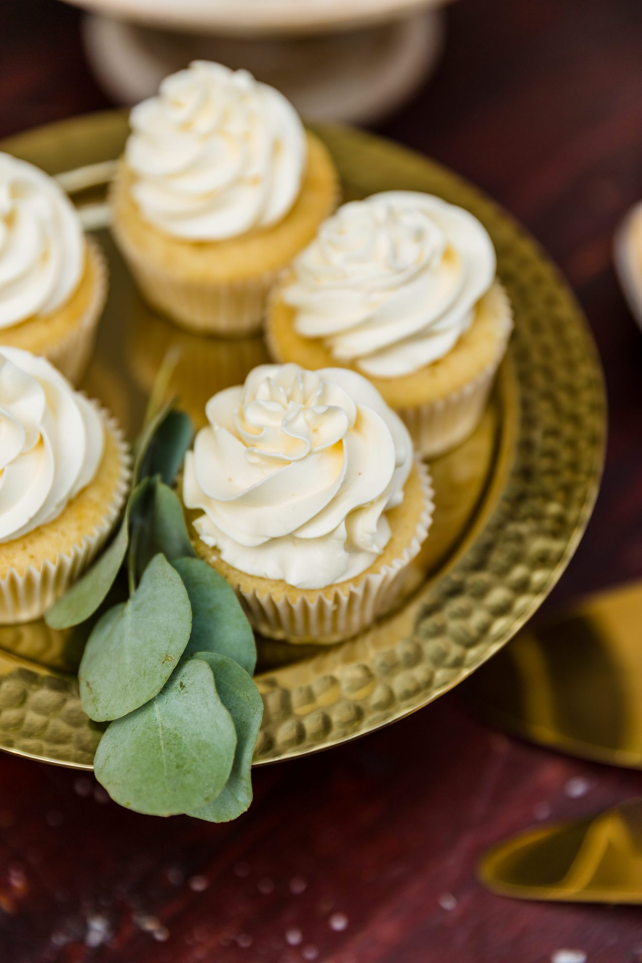 Vanille cupcakes met botercreme
